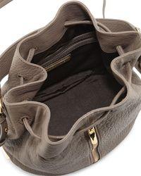 Elizabeth and James - Brown Cynnie Leather Bucket Bag - Lyst