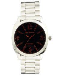 Ben Sherman Metallic Steel Bracelet Strap Watch Bs038 for men