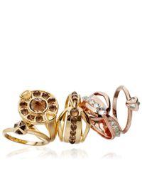 Katie Rowland Metallic Circe Helios Ring