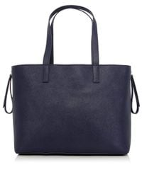 Marc By Marc Jacobs | Blue Zip It Saffiano Zipper Tote Bag | Lyst