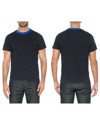 Joe's Jeans Blue Brooks Distorted Tee for men