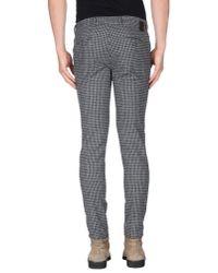 Roberto Pepe Gray Casual Trouser for men