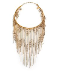 Erickson Beamon | Metallic Swarovski Crystal Ballroom Dancing Fringe Necklace for Men | Lyst