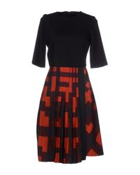 Neil Barrett - Black Short Dress - Lyst