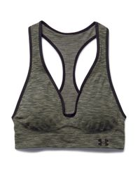 Under Armour | Green Printed Sports Bra | Lyst