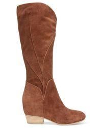 Naya Brown Fjord Tall Boots