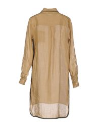 Ottod'Ame - Natural Shirt - Lyst