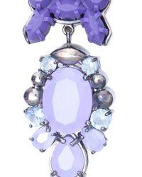 EK Thongprasert - Purple Attitude Earrings - Lyst