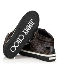 Jimmy Choo Black Belgravia Patchwork Lace-up Shoe for men