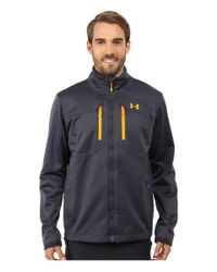 Under Armour | Gray Ua Coldgear Infrared Softershell Jacket for Men | Lyst