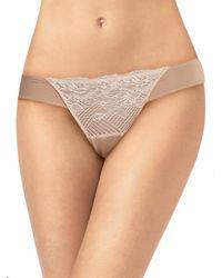 Natori Foundations - Natural Blossom Lace Bikini - Lyst