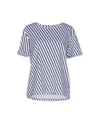 Le Mont St Michel | Blue T-shirt for Men | Lyst