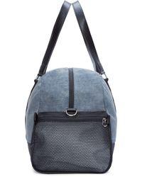DIESEL Blue & Black De-yanki Duffle Bag for men