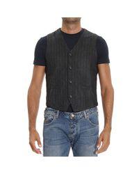 Hydrogen | Gray Waistcoat for Men | Lyst