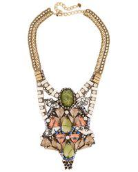 Nocturne | Multicolor Kali Embellished Necklace | Lyst