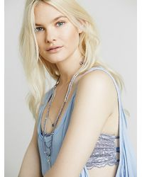 Free People | Blue Free Swing Cami | Lyst