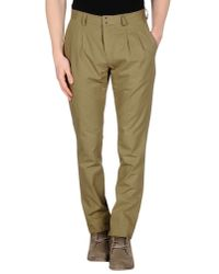 Tonello - Natural Casual Trouser for Men - Lyst