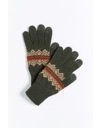 Pendleton | Green American Treasure Texting Glove | Lyst