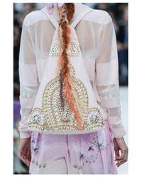 Manish Arora | White Golden Embellished Backpack | Lyst