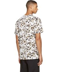Givenchy - White Floral Print T-Shirt for Men - Lyst