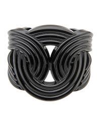 Lara Bohinc | Black Bracelet | Lyst