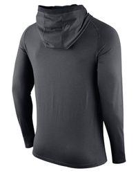 Nike Gray Men's Dallas Cowboys Dri-fit Touch Hoodie for men