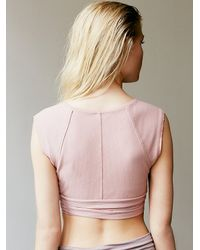 Free People - Pink Pique Wrap - Lyst