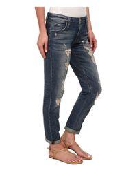 Joe's Jeans | Blue Vintage Billie Slim Ankle In Nonie | Lyst