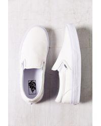 Vans Classic Premium Leather Slip-On
