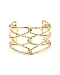 Alexis Bittar | Metallic Liquid Gold Barbed Cuff You Might Also Like | Lyst