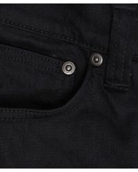 Nudie Jeans - Black Pipe Led 32l Skinny Jeans for Men - Lyst