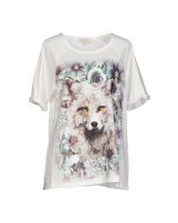 Paul & Joe - White Tshirt - Lyst