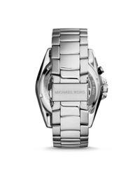 Michael Kors - Metallic Jetmaster Silver-tone Watch - Lyst