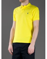 Polo Ralph Lauren Yellow Polo Shirt for men