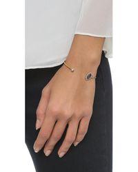 Tai | Blue Hexagon Bracelet - Montana/gold | Lyst