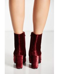 Urban Outfitters - Red Liza Heeled Boot - Lyst