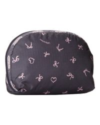 LeSportsac | Black Medium Dome Cosmetic | Lyst