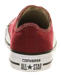 Converse Purple All Star Low for men