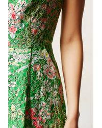 Maeve Green Laced Verbena Dress