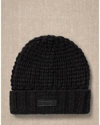 Belstaff Black Ardleigh Hat for men