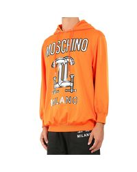Moschino | Orange Women's Sweater | Lyst