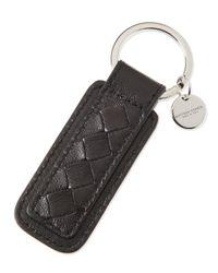 Bottega Veneta   Brown Intrecciato Key Chain for Men   Lyst