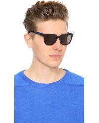 Retrosuperfuture Blue People Supremo Sunglasses for men