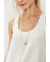 Urban Outfitters - Metallic Kc Crystal Layering Necklace Set - Lyst