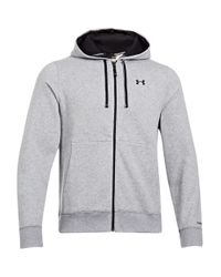 Under Armour | Gray Charged Cotton Storm Transit Hoodie for Men | Lyst
