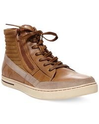 Steve Madden | Brown Dagon High-tops for Men | Lyst