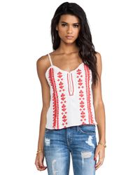 Tigerlily | Shrine Cami in White | Lyst