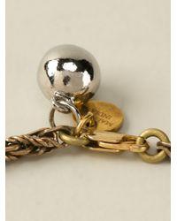 Shourouk - Metallic Hindi Necklace - Lyst