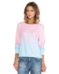 Wildfox - Multicolor I Am The Ocean Sweater - Lyst