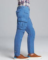 GANT Blue Perfect Cargo Pants for men